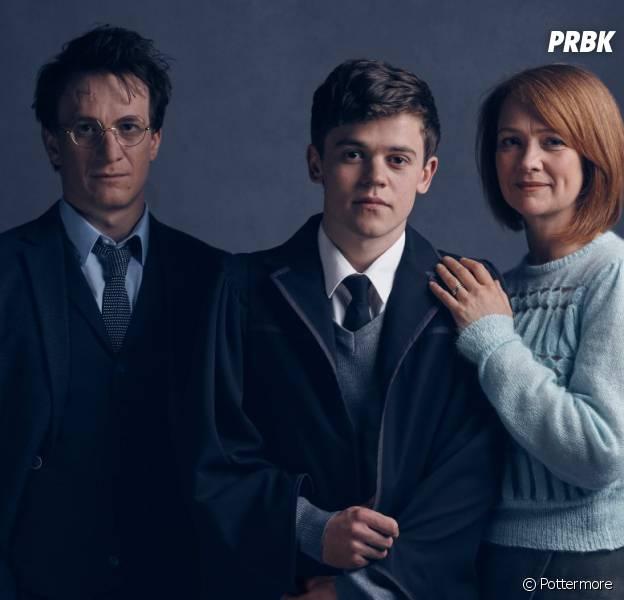 Harry Potter and the Cursed Child : les trois héros se dévoilent en photos