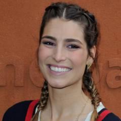 Laury Thilleman et Juan Arbelaez complices et amoureux à Roland Garros
