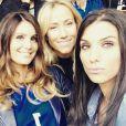Jennifer Giroud, Marine Lloris, Sandra Evra et Ludivine Sagna à l'Euro 2016