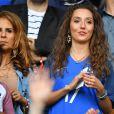Tiziri Digne, l'épouse de Lucas Digne, au match France-Suisse