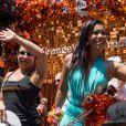 Orange is the new black :  Selenis Leyva et Jessica Pimentel Dayanara lors de la Gay Pride de New-York le 26 juin 2016