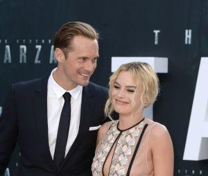 Alexander Skarsgard et Margot Robbie complices à l'avant-première de Tarzan le 5 juillet 2016 à Londres