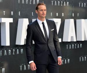 Alexander Skarsgard à l'avant-première de Tarzan le 5 juillet 2016 à Londres