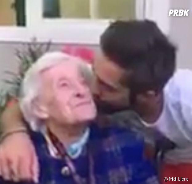 Kendji Girac rencontre enfin sa fan centenaire