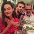 The Vampire Diaries saison 8 : Paul Wesley et Phoebe Tonkin à un diner avant le tournage