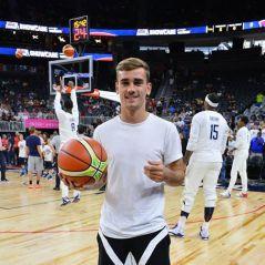 Antoine Griezmann : la star de l'Euro 2016 rencontre une star du basket US, et ça fait rire Twitter