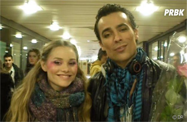 Damien Sargue et Joy Esther en 2010