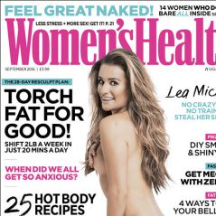Lea Michele entièrement nue en couverture de Women's Health