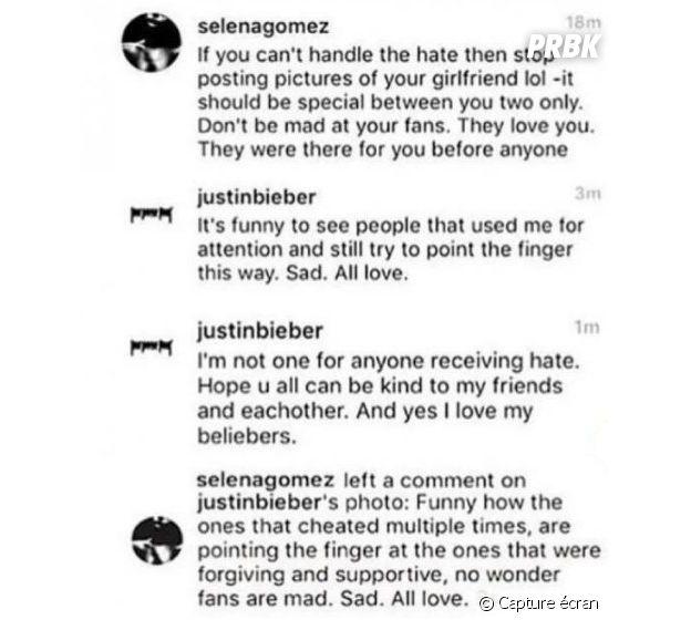 Justin Bieber supprime son compte Instagram après les critiques sur Sofia Richie : Selena Gomez se mêle du clash !