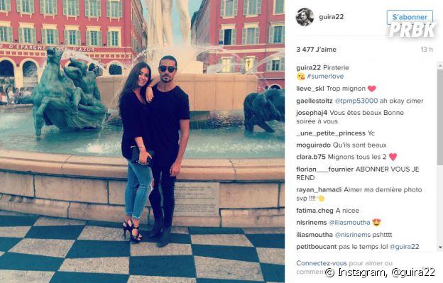 Julien Guirado et Martika Caringella (La Villa des Coeurs Brisés 2): en vacances en amoureux