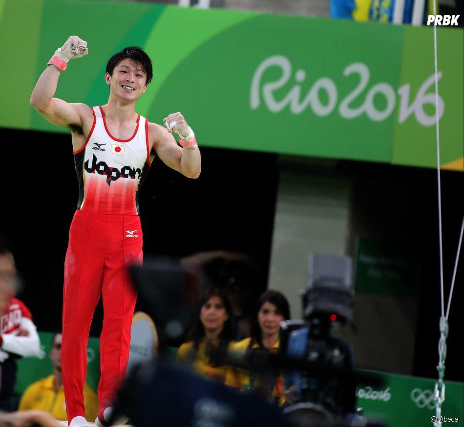 Kohei Uchimura médaillé d'or aux JO