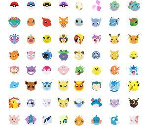 """Grâce à Kévin Magalhaes et Laureen Minet, découvrez les """"Pokémojis"""", des emojis Pokémon !"""