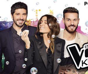 Jenifer, M. Pokora et Patrick Fiori sont prêts pour The Voice Kids 3 !