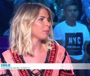 Emilie Fiorelli balance sur sa rupture avec Rémi Notta sur le plateau du Débrief de Secret Story 10 le 29 août sur NT1