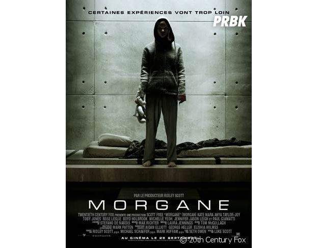 Morgane : l'affiche du film.