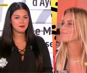 Aurélie Van Daelen et Ayem Nour en froid ? Elle rétablit la vérité dans le Mad Mag le 17 septembre 2016 sur NRJ 12