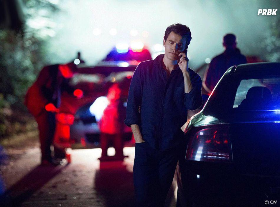 The Vampire Diaries saison 8, épisode 1 : Stefan (Paul Wesley) sur une photo