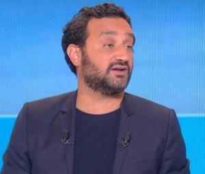 """Cyril Hanouna (TPMP) s'est dit """"ému"""" par le message de Bertrand Chameroy (OFNI)."""