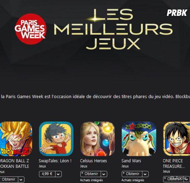 Paris Games Week 2016 : la sélection des meilleurs jeux du salon de l'App Store