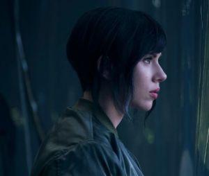 Scarlett Johansson est le major Motoko Kusanagi dans Ghost In The Shell