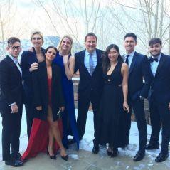 Glee : Lea Michele, Kevin McHale... les acteurs se retrouvent pour le mariage de Becca Tobin