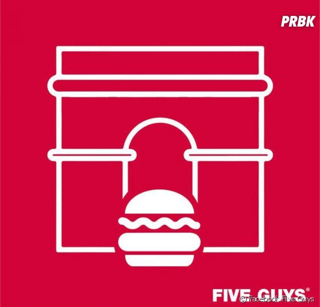 Five Guys : voici quand le restaurant des Champs Elysées ouvre ses portes