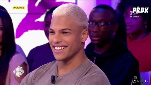 Marvin (Secret Story 10) devient blond et dévoile son nouveau look dans le Mad Mag le 13 décembre 2016