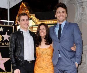 James et Dave Franco et leur maman Betsy