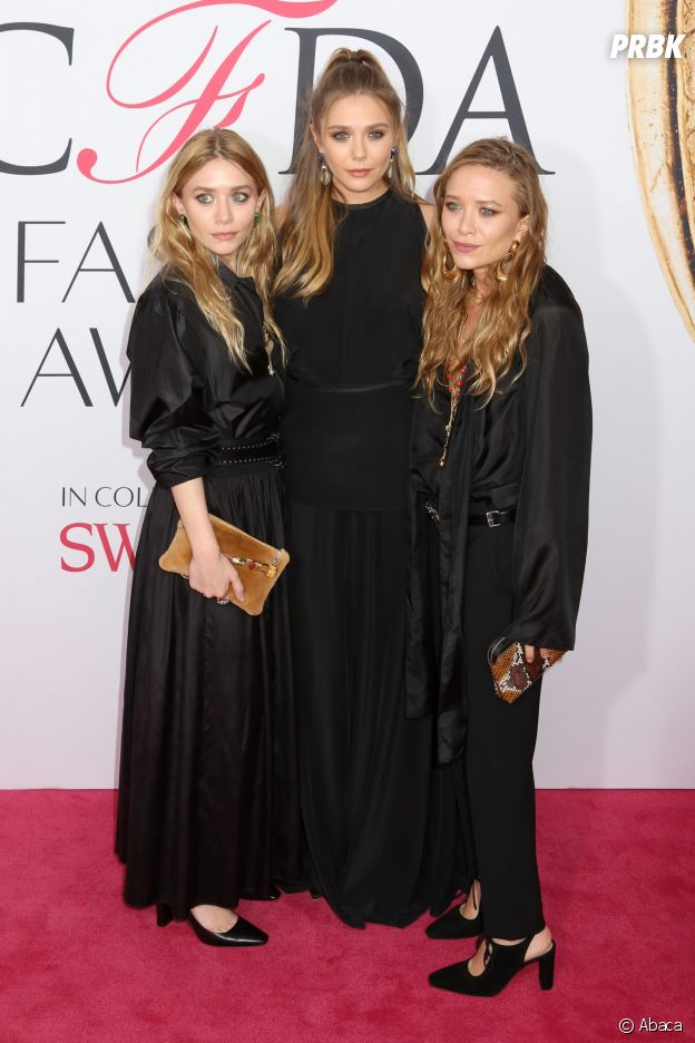 Ashley et Mary-Kate Olsen et leur soeur Elizabeth