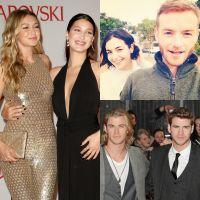 Gigi et Bella Hadid, Liam et Chris Hemsworth, Alanna et Christopher... ces frères et soeurs célèbres