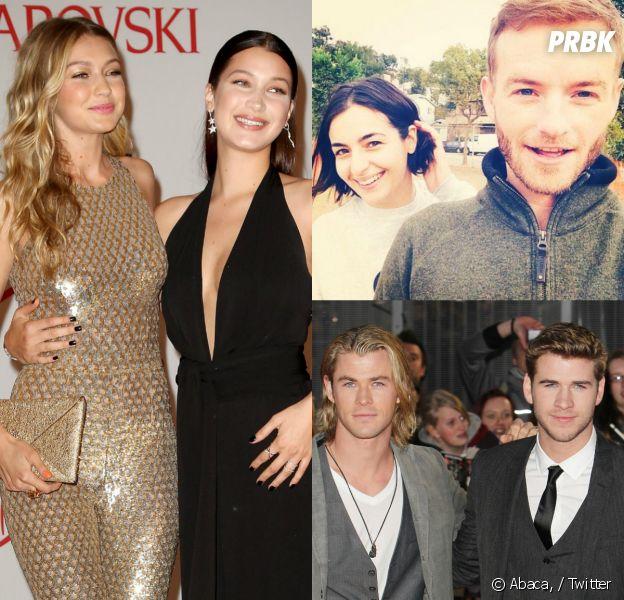 Gigi et Bella Hadid, Liam et Chris Hemsworth, Alanna et Christopher Masterson... ces frères et soeurs célèbres