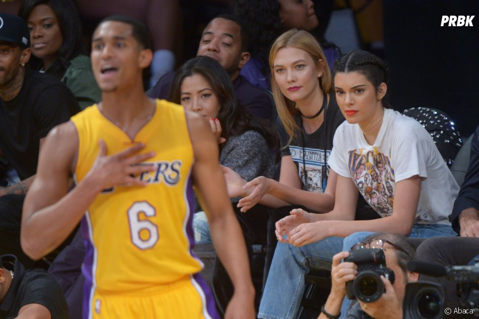 Kendall Jenner est même venue voir Jordan Clarkson à plusieurs matchs des Lakers de Los Angeles.