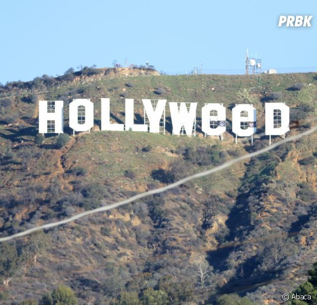 Hollwyood rebaptisé Hollyweed pour le Nouvel An