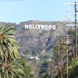Le panneau Hollwyood transformé en Hollyweed