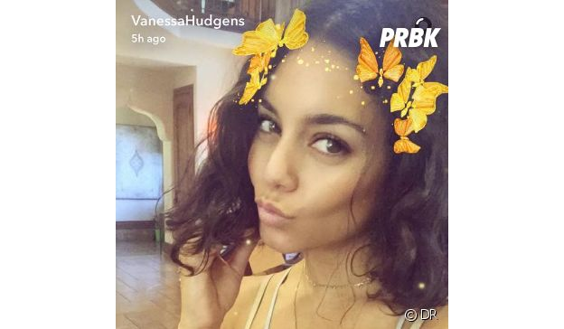 Snapchat : le filtre papillons très populaire