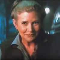 Star Wars 8 et 9 : Leia (Carrie Fisher) coupée au montage ?