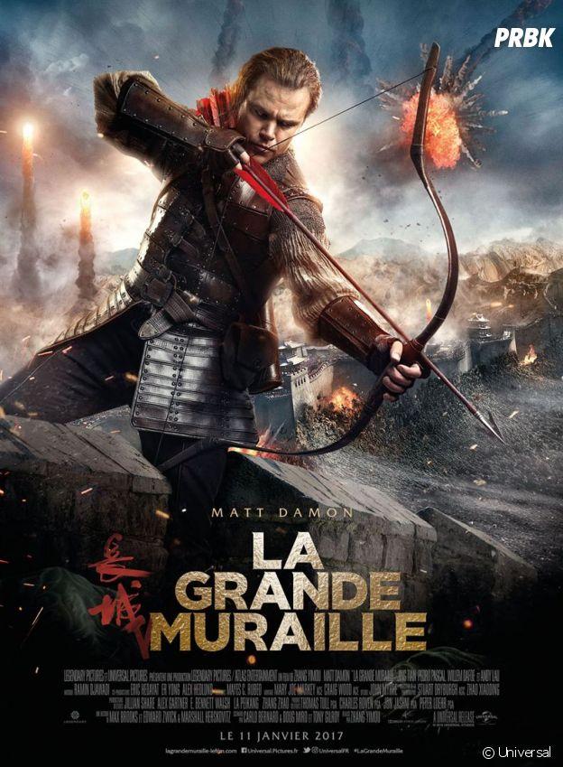 La Grande Muraille : au cinéma le 11 janvier 2017