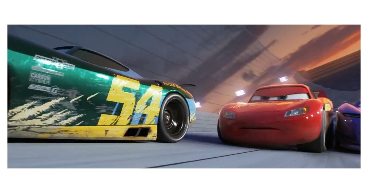 cars 3 flash mcqueen en mode rocky dans une bande annonce intense purebreak. Black Bedroom Furniture Sets. Home Design Ideas