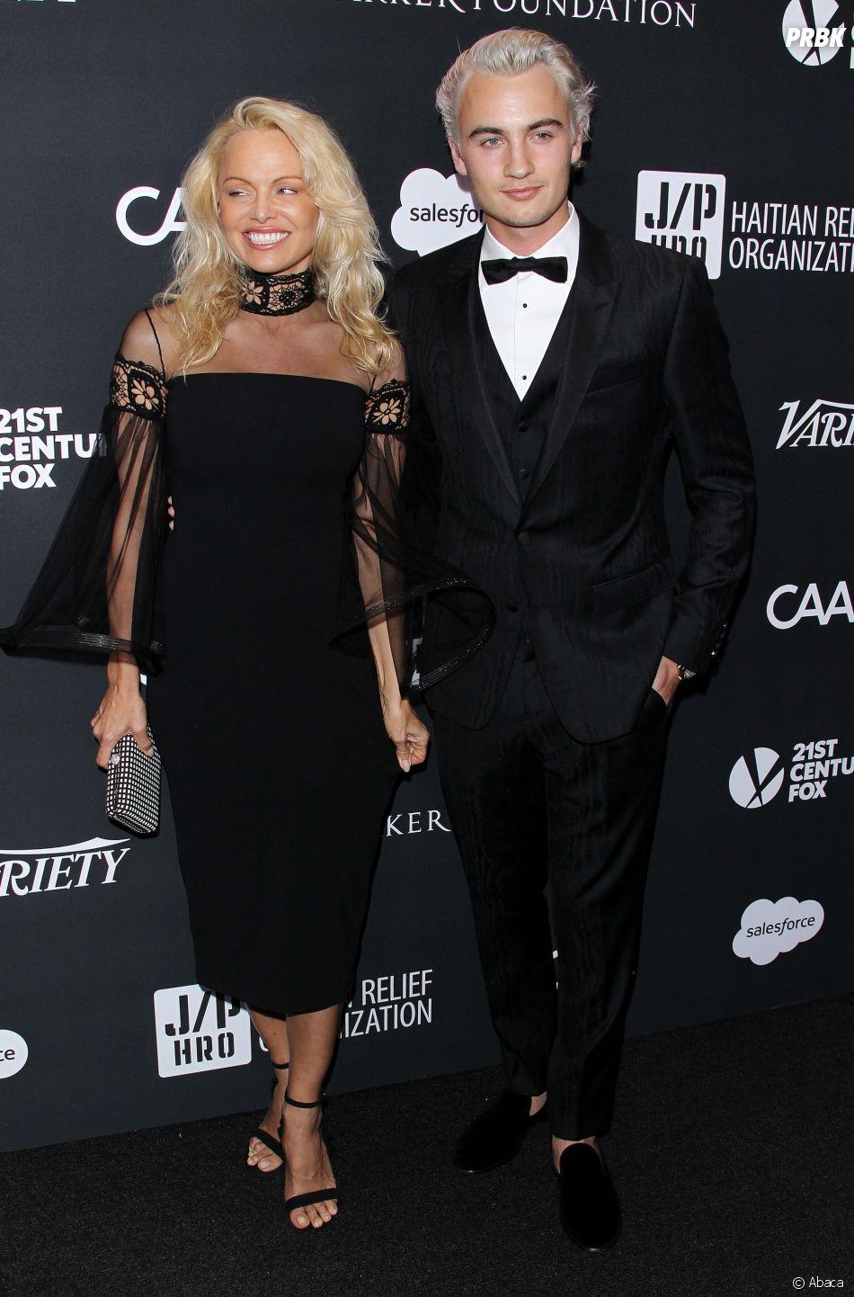 Pamela Anderson et son fils Dylan Lee : elle est méconnaissable de visage !