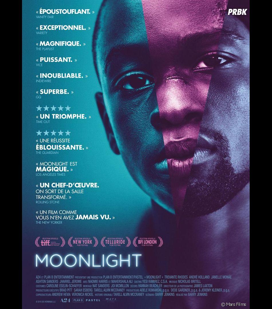 Moonlight nommé aux Oscars 2017