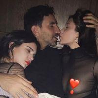 Kendall Jenner et Bella Hadid : la photo provoc en mode plan à trois avec un homme
