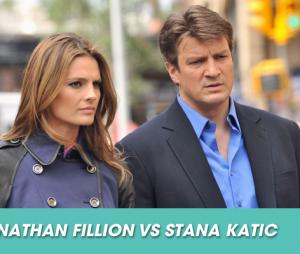 Les conflits dans les séries : Nathan Fillion et Stana Katic