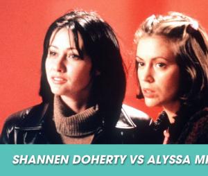 Les conflits dans les séries : Shannen Doherty et Alyssa Milano