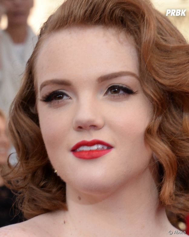 Shannon Purser (Stranger Things, Riverdale) sur le tapis rouge des SAG Awards à Los Angeles en janvier dernier