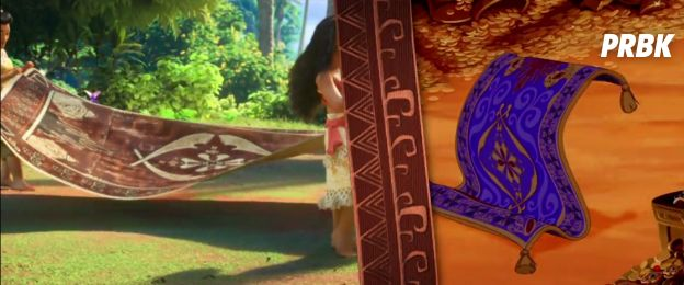 Vaiana : découvrez les clins d'oeil à Aladin, La Petite Sirène, La reine des neiges...