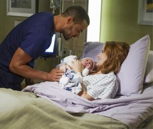 Grey's Anatomy saison 12 : April, Jackson et leur fille Harriett