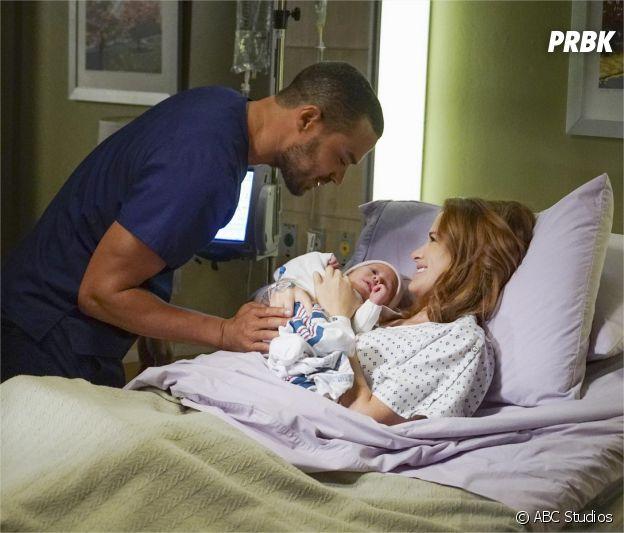 Grey's Anatomy saison 12 : April, Jackson et leur fille Harriett