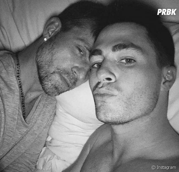 Colton Haynes et Jeff Leatham : l'acteur de Teen Wolf et Arrow dévoile son premier selfie avec son petit ami.