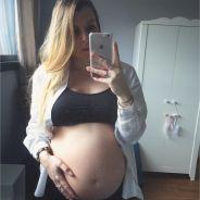 Alexia Mori enceinte : elle se confie sur les kilos pris pendant sa grossesse