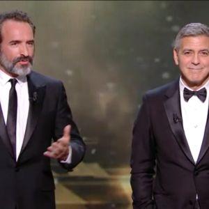 César 2017 : quand Jean Dujardin et George Clooney se moquent de Donald Trump 😂